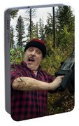 I Am A Lumberjack I Am Ok Portable Battery Charger