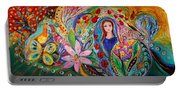 Leah And Flower Of Mandragora Portable Battery Charger