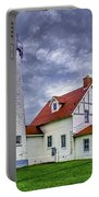 Lighthouse At Point Iroquois Portable Battery Charger