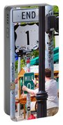 # One Stolen Sign Key West  Portable Battery Charger