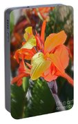 Orange Bright Portable Battery Charger