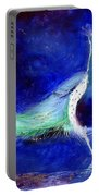 Peacock Blue Portable Battery Charger