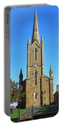 Pointed Church Portable Battery Charger