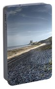Reculver From Bishopstone Beach Portable Battery Charger