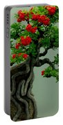 Red Berried Bonsai Portable Battery Charger