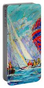 Sail Of Amsterdam II - Tree Sailboats  Portable Battery Charger