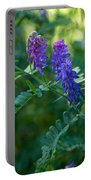 Tufted Vetch Portable Battery Charger