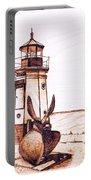 Vermilion Lighthouse Portable Battery Charger