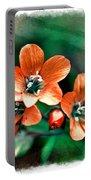 Wildflowers 5 -  Polemonium Reptans  - Digital Paint 3 Portable Battery Charger