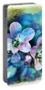 Wildflowers 5  -  Polemonium Reptans - Digital Paint 4 Portable Battery Charger