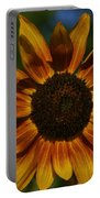 Yellow Sun Flower Portable Battery Charger