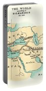 World Map, C300 B.c Portable Battery Charger
