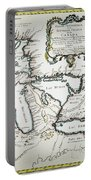 Great Lakes Map, 1755 Portable Battery Charger