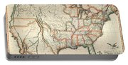 Map: United States, 1820 Portable Battery Charger
