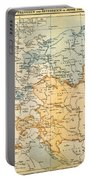 Austrian Empire Map, 1795 Portable Battery Charger