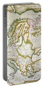 Map Of Europe, 1623 Portable Battery Charger