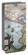 New World Map, 1570 Portable Battery Charger