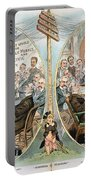 Business Cartoon, 1904 Portable Battery Charger