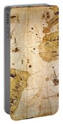 Vespucci's World Map, 1526 Portable Battery Charger