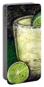Tequila With Salt And Lime Portable Battery Charger