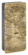W. Hemisphere Map, 1596 Portable Battery Charger
