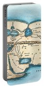 Strabo World Map, C20 A.d Portable Battery Charger