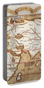 Waldseemuller: World Map Portable Battery Charger