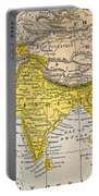 Asia Map, 19th Century Portable Battery Charger