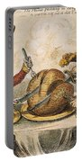 Napoleon Cartoon, 1805 Portable Battery Charger