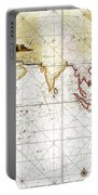 Indian Ocean: Map, 1705 Portable Battery Charger