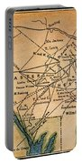 Underground Railroad Map Portable Battery Charger