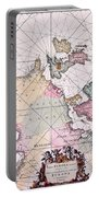 Map: European Coasts, 1715 Portable Battery Charger