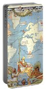 Map: British Empire, 1886 Portable Battery Charger