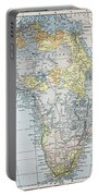 Map: Africa, 19th Century Portable Battery Charger