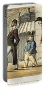Paris Occupation, 1814 Portable Battery Charger
