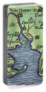 New England Map 1677 Portable Battery Charger