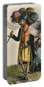 Cartoon: French War, 1798 Portable Battery Charger