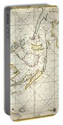 Map: East Indies, 1670 Portable Battery Charger