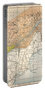 Map: Eastern Canada Portable Battery Charger