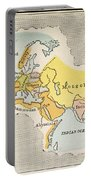 World Map, C1300 Portable Battery Charger