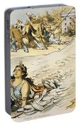 Free Silver Cartoon, 1890 Portable Battery Charger