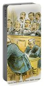 Litigation Cartoon Portable Battery Charger