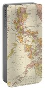 Map: Philippines, 1905 Portable Battery Charger