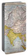 Asia Map Late 19th Century Portable Battery Charger