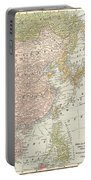 Map: East Asia, 1907 Portable Battery Charger