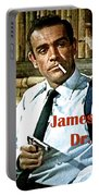 007, James Bond, Sean Connery, Dr No Portable Battery Charger