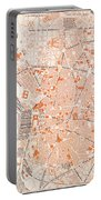 Spain: Madrid Map, C1920 Portable Battery Charger