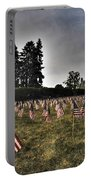 01 Flags For Fallen Soldiers Of Sep 11 Portable Battery Charger
