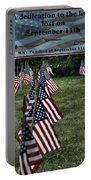 010 Flags For Fallen Soldiers Of Sep 11 Portable Battery Charger