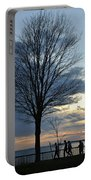 015 April Sunsets Portable Battery Charger